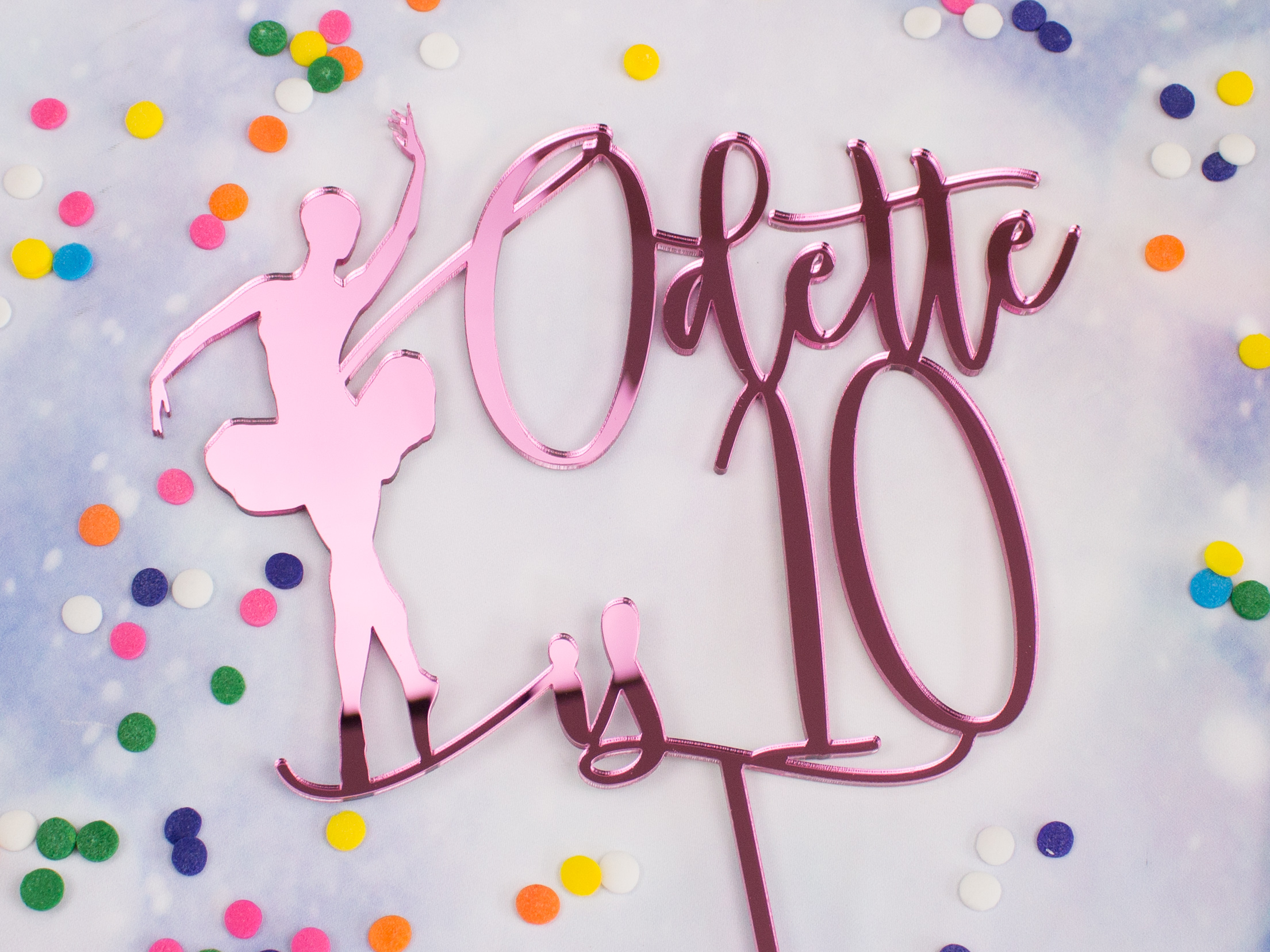 Ballerina Cake Topper Buy Online Foote And Flame