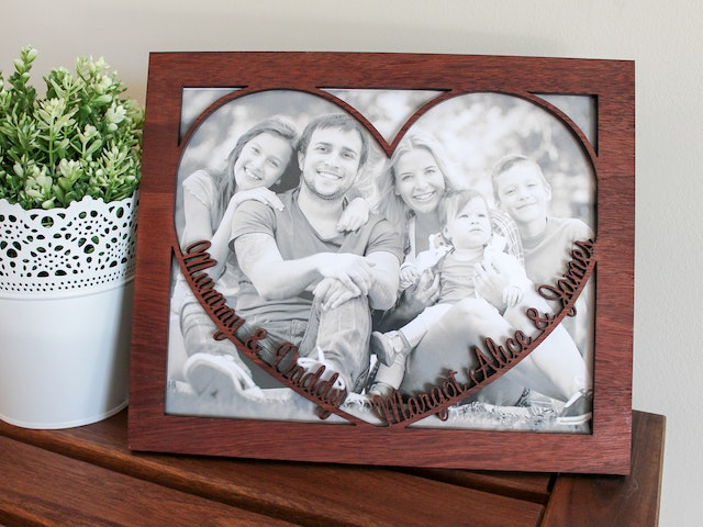 Jarrah Photo Frame